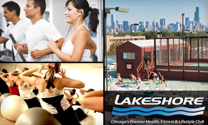 Lakeshore Athletic Club - Multiple Locations: One-Month Membership to the Lakeshore Athletic Club. Choose from a Family or Individual Membership.