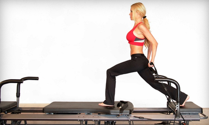 Boston Pilates Plus - Lexington Town Center: Four or Eight SPX Fitness Pilates Classes at Boston Pilates Plus in Lexington (Up to 71% Off)