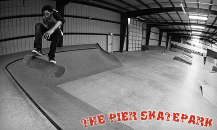 The Pier Skatepark - Kennedale: $6 for One Pass to The Pier Skatepark in Kennendale ($13 Value)