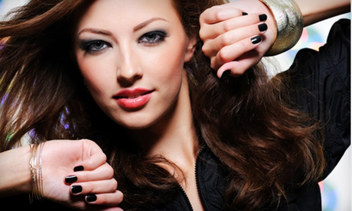 Face and Body by Taylor - Grand Lake: Five Express Manicures or Five Brow Waxes at Face and Body by Taylor in Oakland