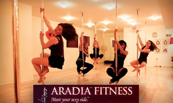 Aradia Fitness - Arcola East-North Side: $40 for Six Weeks of Level 1 Pole-Dancing Classes at Aradia Fitness ($150 Value)