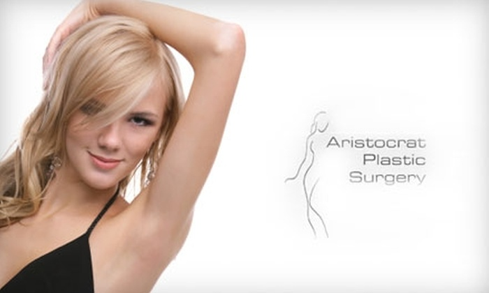 Aristocrat Plastic Surgery - Multiple Locations: $89 for Three Laser Hair-Removal Treatments at Aristocrat Plastic Surgery (Up to $675 Value)