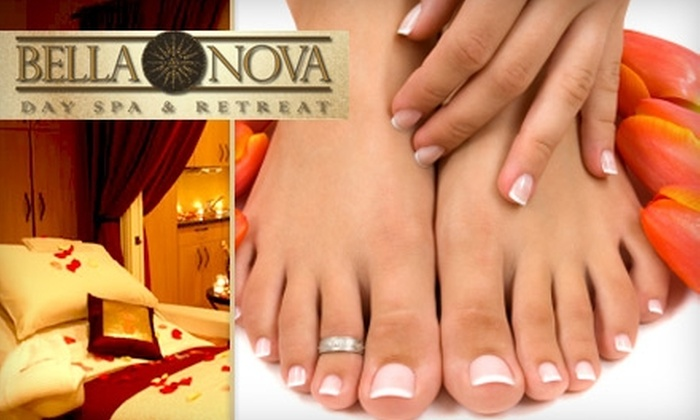 Bella Nova Day Spa and Retreat - Copperfield Place: $45 for a 30-Minute Foot Detoxification and 30-Minute Lymphatic Massage with a Hand Treatment at Bella Nova Day Spa and Retreat ($105 Value)