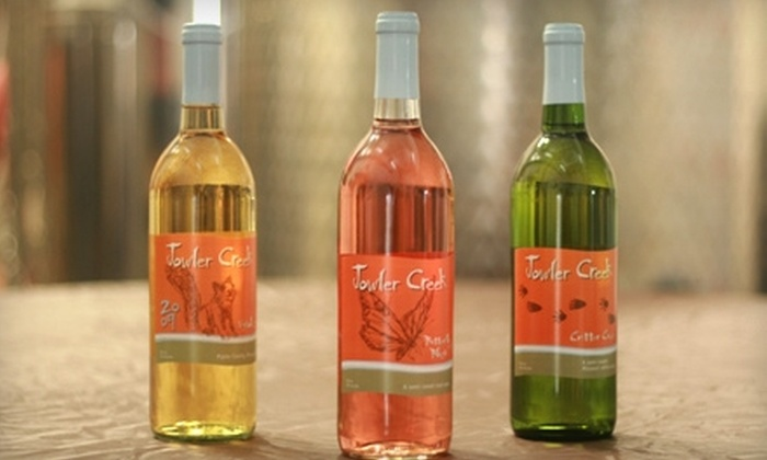 Jowler Creek Vineyard & Winery - Fair: $19 for a Wine Tasting, Wine Glasses, and One Bottle of Wine at Jowler Creek Vineyard & Winery in Platte City (Up to $39.60 Value)