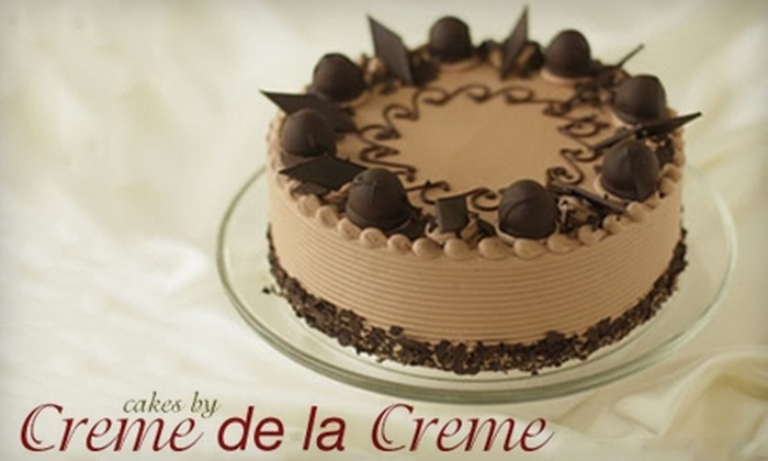 Cakes by Crème de la Crème - Renton: $22 for $50 Worth of Specialty Cakes, Cupcakes, and More at Cakes by Crème de la Crème in Renton