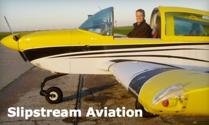 Slipstream Aviation - Redbird: $119 for a One-Hour Super-Sized Discovery Flight at Slipstream Aviation ($199 Value)