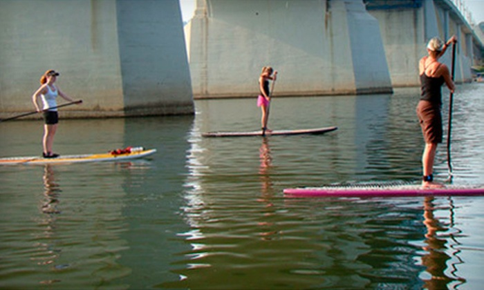 L2 Boards - Downtown Chattanooga: $20 for an Introductory Paddleboard Adventure Including Board and Paddle Rental from L2 Boards ($45 Value)