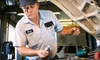 Pinckney Chrysler Dodge Jeep Ram - Downtown Dexter: Oil-Change Package, Maintenance Services, or Credit Toward Tires at Pinckney Chrysler Dodge Jeep Ram (Up to 67% Off)