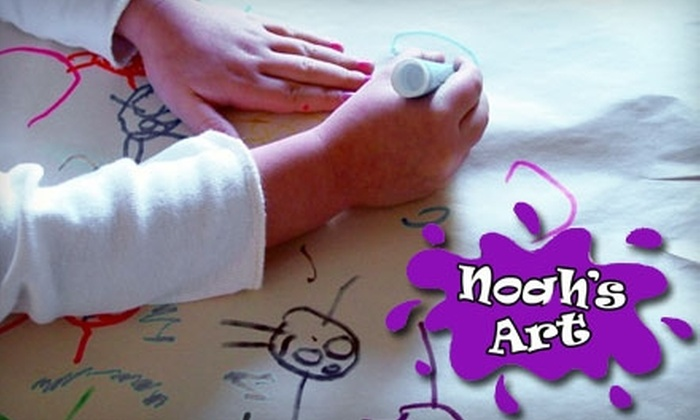 Noah's Art - Multiple Locations: $30 for Four Weeks of Children's Art Classes at Noah's Art. Choose from Two Locations.