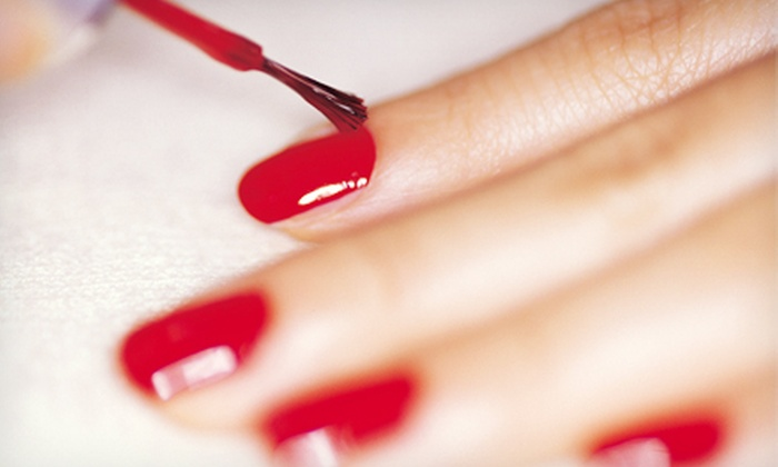 Healthy Image - Watertown: Shellac Manicure or a Spa Pedicure at Healthy Image (Up to 60% Off)
