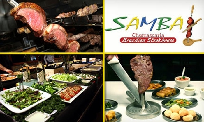 Samba Churrascaria - Bullard: $15 for $30 Worth of Brazilian Bites and Drinks at Samba Churrascaria Brazilian Steakhouse