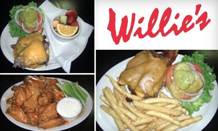 Willie's Sports Cafe - Kenwood: $10 for $20 Worth of Pub Fare and Drinks at Willie's Sports Cafe in Kenwood
