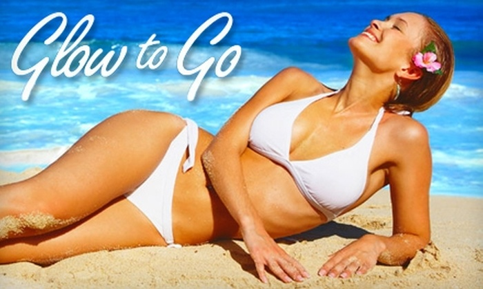 Glow to Go - Sharp Leadenhall: $27 for a Custom Sunless-Tanning Session at Glow to Go ($55 Value)