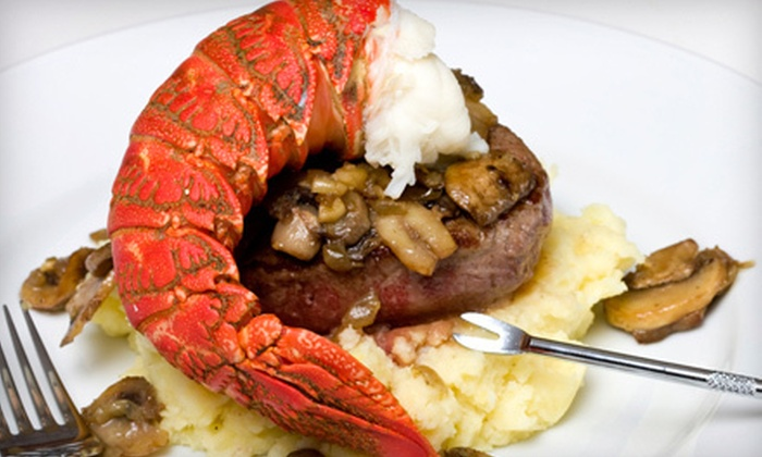 Star Steak and Lobster House - French Quarter: $20 for $40 Worth of Seafood and Creole Fare at Star Steak and Lobster House