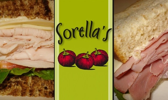 Sorella's - Liberty: $6 for $12 Worth of Gourmet Sandwiches, Soups, Salads, and More at Sorella's