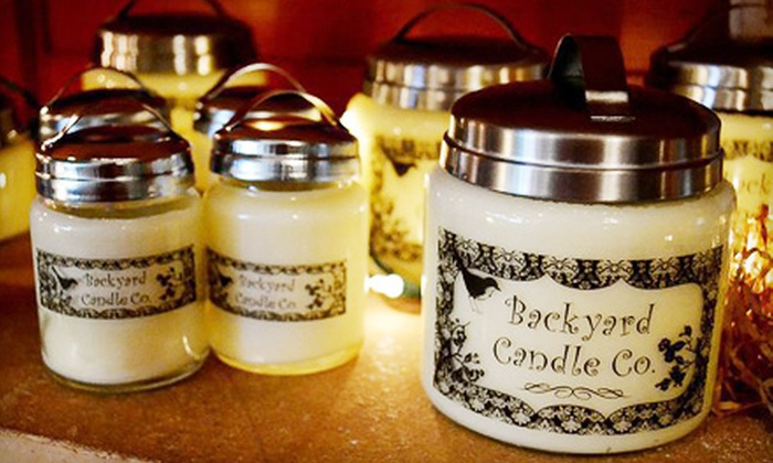 Backyard Candle Co. - Washington: $5 for $10 Worth of Hand-Poured Candles and Eclectic Décor at Backyard Candle Co. in Washington