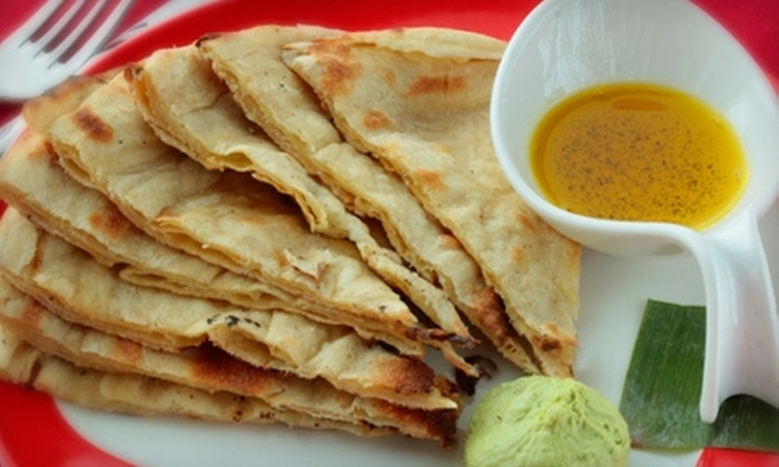 Thali - Westport: $30 for $60 Worth of Indian Fusion Cuisine at Thali in Westport