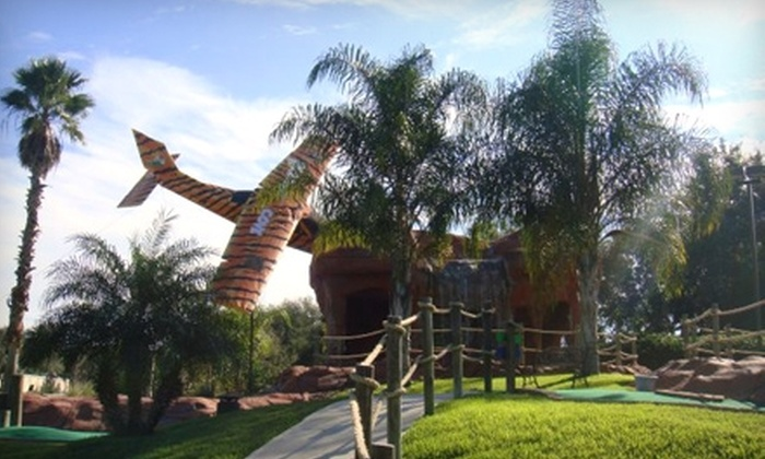 Adventure Cove Miniature Golf - Lake Business Park: $7 for Mini Golf for Two at Adventure Cove Miniature Golf in Mount Dora (Up to $15 Value)