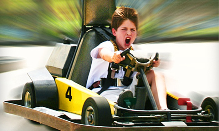Adventure Zone  - El Paso: Three Hours of Mini Golf, Go-Karts, and Bumper Boats for Two, Four, or Six at Adventure Zone (Up to 65% Off)