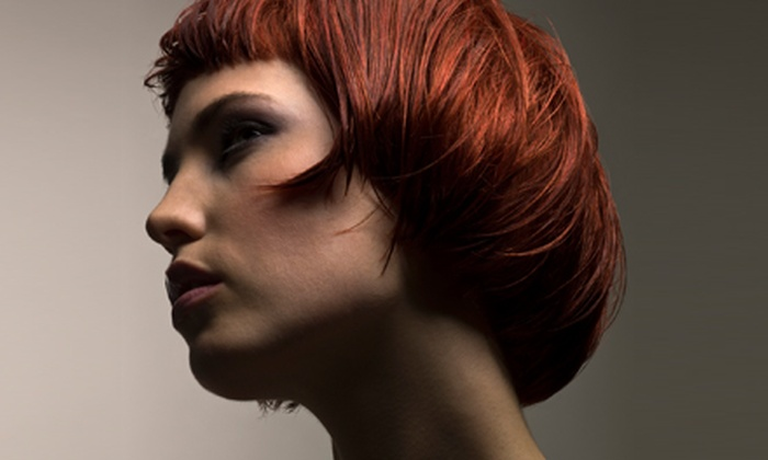 Paul Pecorella Hair Salon & Spa - The Annex: $28 for a Haircut Package with a New Talent Stylist at Paul Pecorella Hair Salon & Spa (Up to $64 Value)