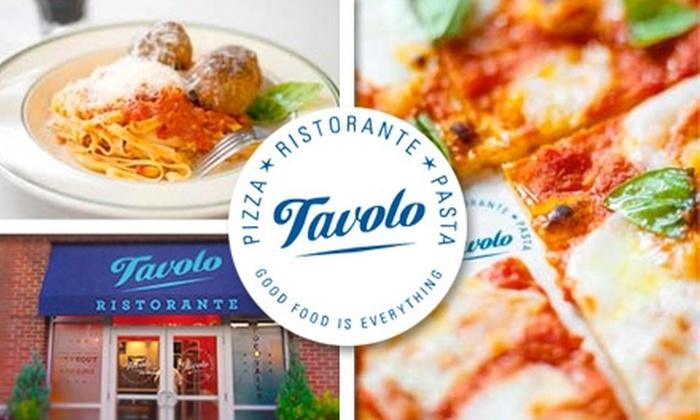 Tavolo - Dorchester: $20 for $40 Worth of Casual Italian Cuisine at Tavolo