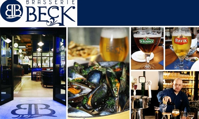Brasserie Beck - Downtown - Penn Quarter - Chinatown: $70 for Unlimited Food and Beer at Brasserie Beck on July 21