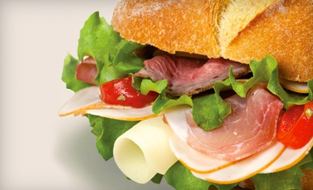 $20 Groupon to Ryan's Red Box Deli  - Ryan's Red Box Deli in Cranberry Township