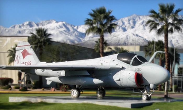 Palm Springs Air Museum - Palm Springs Air Museum: Admission for One or Four Adults to Palm Springs Air Museum