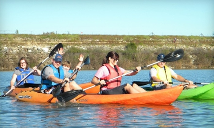 Row Paddle Brushy Creek - Cedar Park: Tandem Kayak Rentals from Row Paddle Brushy Creek in Cedar Park. Two Options Available.