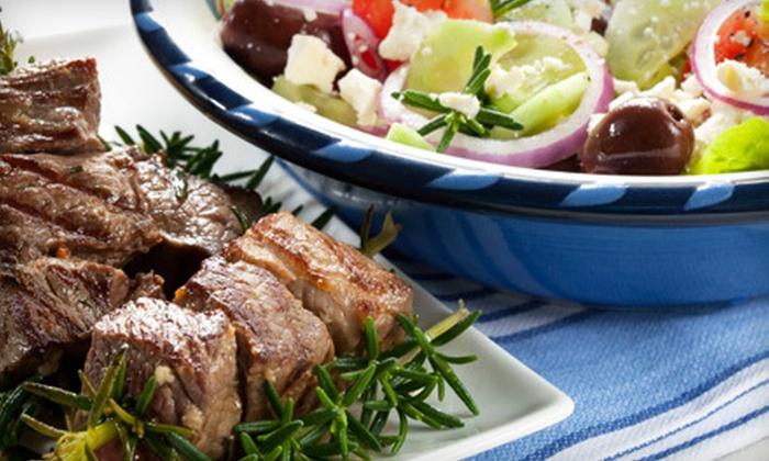 Opa! Greek American Cuisine - Castle Shannon: $12 for $24 Worth of Greek and American Fare at Opa! Greek American Cuisine