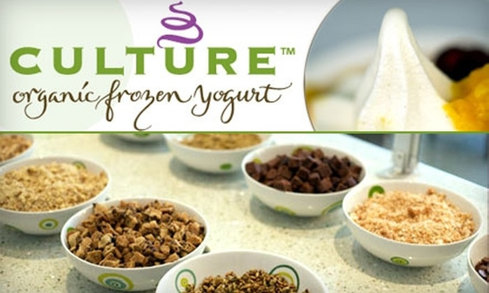 Culture Organic Frozen Yogurt - Evergreen Park: $3 for $6 Worth of Delicious and Healthy Treats at Culture Organic Frozen Yogurt in Palo Alto