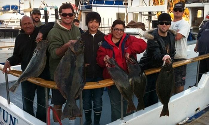 Dana Wharf Sportfishing - Dana Point: Fishing Trip and Food Voucher at Dana Wharf Sportfishing in Dana Point. Two Options Available.