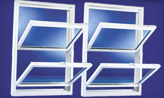 Galaxie Home Remodeling - Loop: $249 for One Double-Hung Factory-Direct Vinyl Replacement Window from Galaxie Home Remodeling ($500 Value)