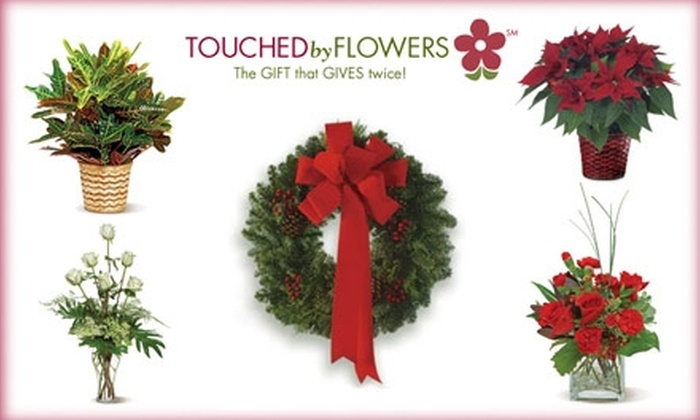 Touched By Flowers - Philadelphia: $30 for $50 Worth of Floral Goods and Delivery from Touched By Flowers ($60 Total Value)