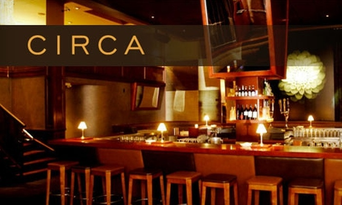 Circa - Marina: $25 for $50 Worth of New American Fare at Circa