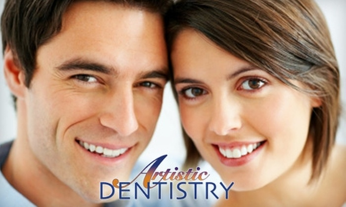 Artistic Dentistry - Saint Louis: $59 for Dental Exam, X-Rays, Cleaning, and Customized Take-Home Whitening Kit from Artistic Dentistry in Creve Coeur