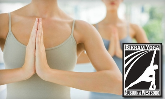 Bikram Yoga Auburn - Westborough: $20 for 10 Classes at Bikram Yoga Auburn ($89 Value)