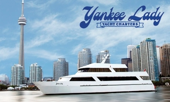 Yankee Lady - Downtown Toronto: $25 for a Toronto Waterfront Cruise from Yankee Lady Yacht Charters (Up to $60 Value)