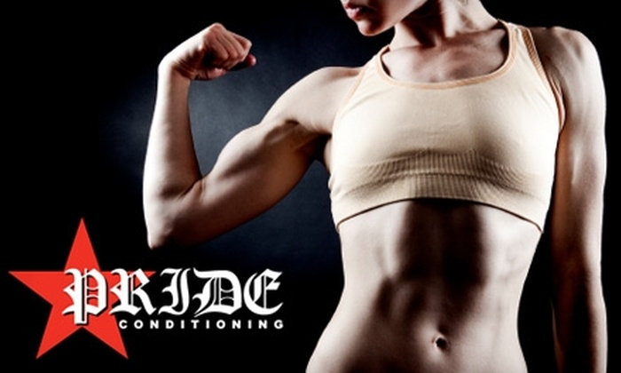 PRIDE Conditioning - Commonwealth: $39 for a 12-Class Pass to Fitness Boot Camp at Pride Conditioning ($120 Value)
