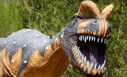 1 Admission for a Child Age 312 (a $9.75 value) - Dinosaur World in Glen Rose