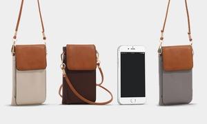 MKII Miki Cell Phone Crossbody Handbag at MKII Miki Cell Phone Crossbody Handbag, plus 8.0% Cash Back from Ebates.