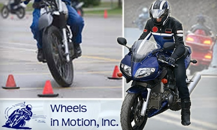 Wheels in Motion, Inc. - Central Colorado City: $119 for an Introductory Motorcycle Course at Wheels in Motion, Inc. ($200 Value)