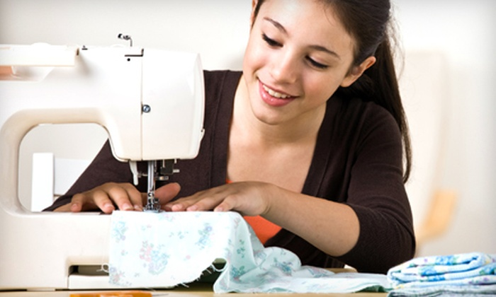 Stitch Pretty - Roswell: Introductory Sewing Classes or Holiday Workshop at Stitch Pretty in Roswell (Up to 62% Off)