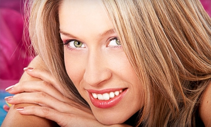 Glamazon - Nelson: $20 for $40 Worth of Hair Coloring or Design and Nail Services at Glamazon in Muskegon