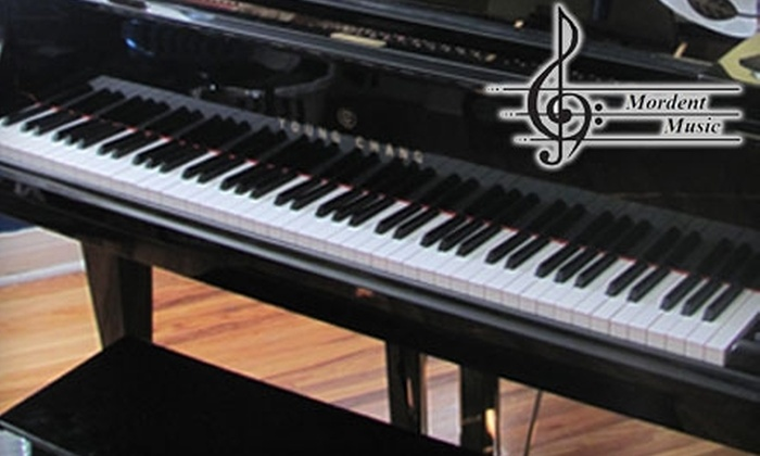 Mordent Music - South Walkerville: $50 for Five Half-Hour Piano Lessons at Mordent Music ($100 Value)