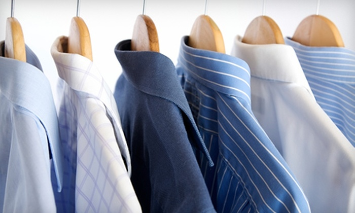 Aloha Cleaners - Downtown Bellevue: Dry-Cleaning Services at Aloha Cleaners in Bellevue (Up to 57% Off). Two Options Available.