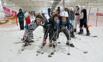 image for Junior Taster Ski or Snowboard Lesson or Ski or Snowboard Lesson for One or Two at Snow Factor (Up to 55% Off)