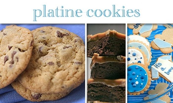 Platine Cookies - Washington Culver: $20 Worth of Cookies, Brownies, and Delicious Desserts at Platine Cookies