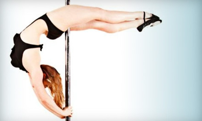 Vertical Arts Studios LLC - Rochester: Three or Five Pole Dance and Aerial Fitness Classes at Vertical Arts Studios LLC (Up to 56% Off)
