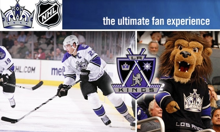AEG - LA Kings - Downtown Los Angeles: $39 for a 200-Level Seat at One of Three LA Kings Games
